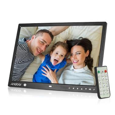 Andoer 15 Zoll große Bildschirm LED Digital Photo Frame Desktop