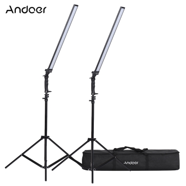 Andoer Photography Studio LED Lighting Kit,free shipping $105(code:APSKL14)