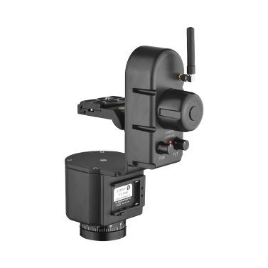ZIFON YT-3000 50m Remote Control Electronic Pan Tilt Head Motorized Panoramic Tripod Head