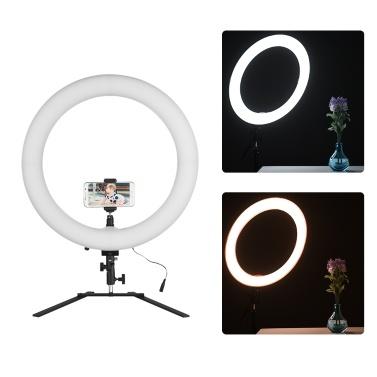 Luz do anel do diodo emissor de luz de 18in 5600K 60W Dimmable