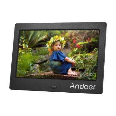 Andoer 7 Zoll IPS HD Bildschirm 1024 * 600 Digitaler Bilderrahmen