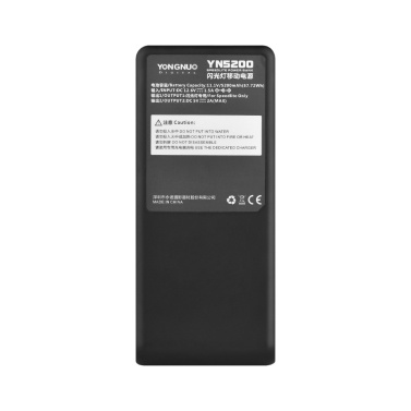 YONGNUO YN5200 Professional Speedlite Power Bank 11.1V 5200mAh for YONGNUO YN560 Series YN660 Series YN565 Series YN600EX-RT(II) YN968EX-RT YN968N for Canon 580EX II 600EX-RT(II) Speedlites and Other Compatible Models