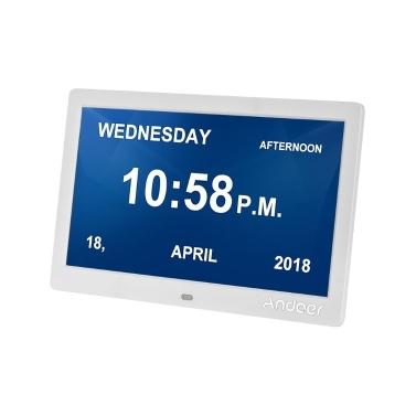 Andoer 10 Inch Digital Alarm & Photo Frame