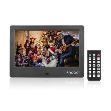 Andoer M705 7 Zoll kompakte Größe LED Digital Photo Frame