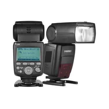 YONGNUO YN680EX-RT Lithium 2.4G Wireless 1 / 8000er HSS TTL Blitz Speedlite GN60 mit 2000mAh Lithium Batterie & Ladegerät für Canon Kameras