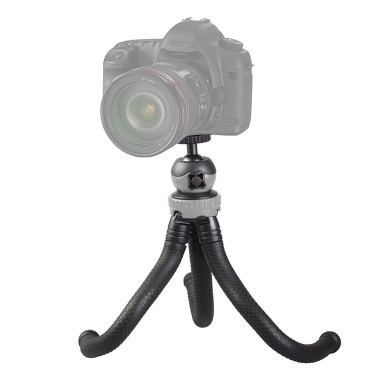 Mini Flexible Tripod Octopus Spider Stand Holder 360u00b0 Ball Head GoPro Heor 6/5/4/3+/3 Yi Action Camera Canon Nikon Sony DSLR iPhone X 8 7 Cell Phone