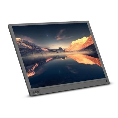 Tragbarer 15,6-Zoll-Monitor 1920 x 1080 Full HD IPS-Bildschirm
