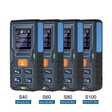 Handheld Range Finder Palm Size Laser Distance Meter Distance Measuring Equipment 100M