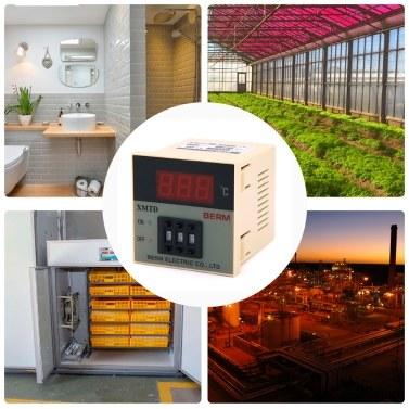 XMTD-2001 Temperaturregler für Digitalanzeige Short Shell 0-399 ℃ K-Typ Temperaturregler