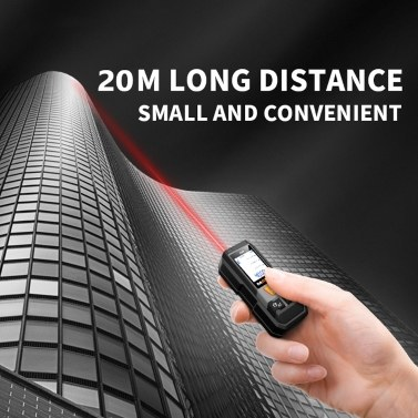 MAKA MK202 Infrared Distance Meter High Accuracy Laser Meter Handheld Electronic Ruler Mini Accurate Distance Measuring Equipment Portable Range Finder