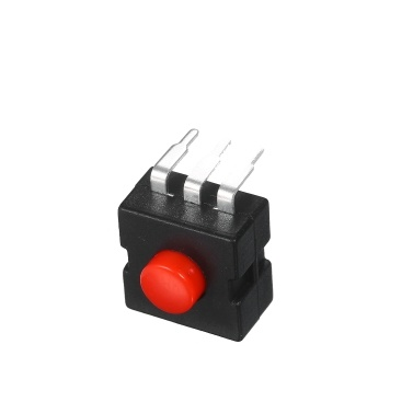 50PCS Rechargeable Flashlight  3 Pin Switch 4mm Push Button Micro Power Switch DIY Electronic Projects for Electric Torch