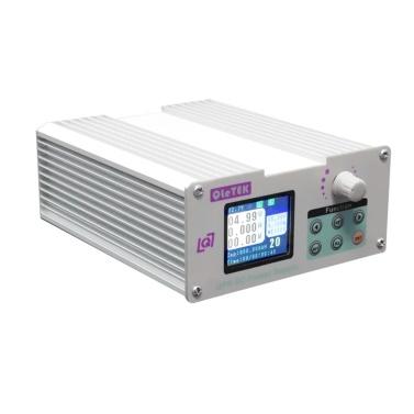 QPS6005S Programmable High Precisions Color Screen CNC Power Supplys Aluminum Chassis Temperature Control Fan Heat Dissipation Voltage Converter