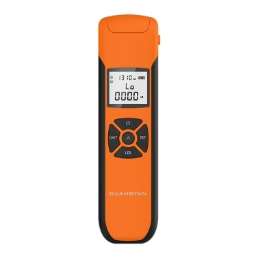 Portable Lightweight Optical Power Meter High Accurancy Rechargeable Optic Power Meter 7 Wavelengthes