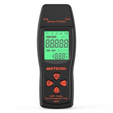 61% OFF Meterk EMF Meter Handheld Mini Digital LCD EMF Detector,limited offer $15.99