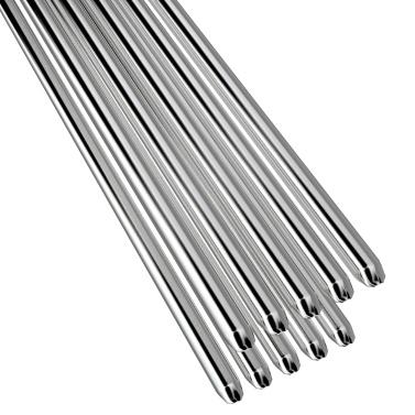 10 STÜCKE Niedrigtemperatur Aluminium Schweißdraht Flussmittelkern 2mm * 500mm Al-Mg Lötkolben Keine Notwendigkeit Lötpulver