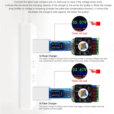 AT34 USB3 0 Color LCD Display Voltage Current Meter Multifunctional USB  Tester