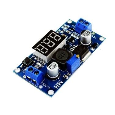 Régulateur de tension à affichage numérique à LED