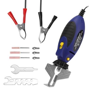 12V Kettensägen-Schleifmaschine Spitzer Kettensäge Elektrische Mini-Handschleifmaschine Feilen