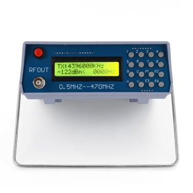 0.5MHz-470MHz RF Signal Generator Meter Tester for FM Radio Walkie-talkie Debug Digital CTCSS Singal Output