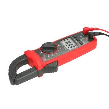 UNI-T UT201 + 4000 Zählt Digitale Zangenmessgeräte True RMS Multimeter Zangenamperemeter Spannungsmessgerät NCV-Test Universalzangenmessgerät Wechselstromzangenmessgerät