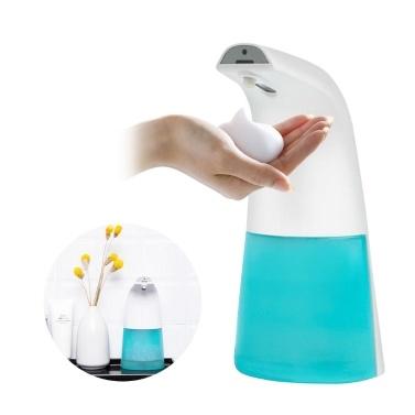 250 ml Infrarot-Schaumseifenspender Automatischer Schaumseifenspender Berührungsloser Seifenspender und Halter Handfreier Seifenspender für die Arbeitsplatte Berührungsloser Seifenbehälter mit IR-Sensor