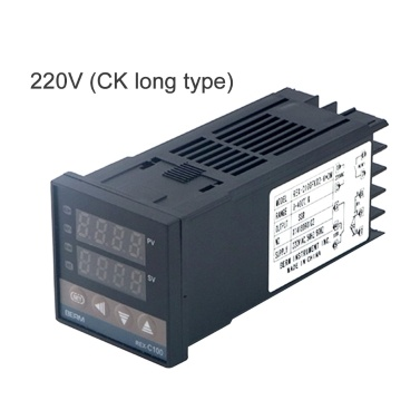 PID Digitaler intelligenter Temperaturregler REX-C100FK02-V * DN 0-400 ° CK Typ Eingang SSR Ausgang (100-240 V DK kurz)