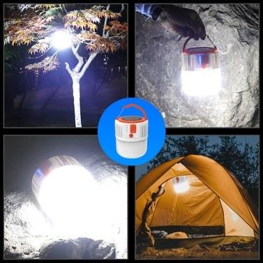 Tragbare Laterne USB Solar Power Mobile Light mit 24-teiligen Lampenperlen für Camping bei versehentlichem Ausfall im Freien