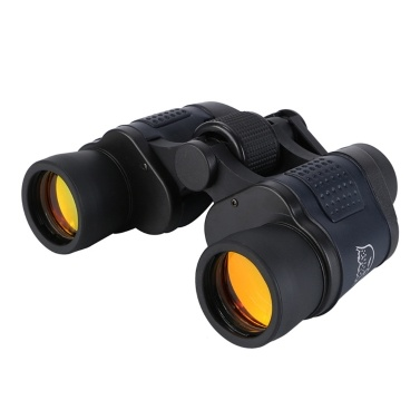 Portable Hiking 60x60 Binoculars High Clear Weak Light Night-vision Telescope(without compass)