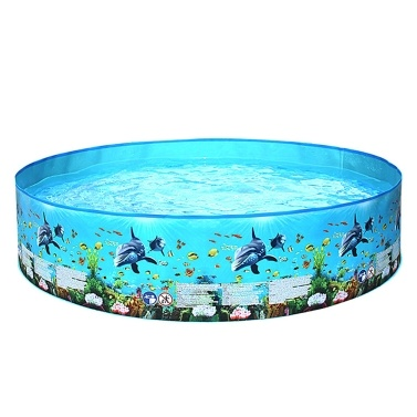 Household Children Swimming Pool Outdoor Swimming Pools PVC Plastics Ocean Round 122*25cm