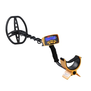Metal Detector Underground Metal Finder Inductor G-old Treasure Hunter Seeker with LCD Display Sound Adjustment 5 Finding Modes Preicse Positioning with Headphone Headwear Batterys Powered Cell Operated Portable