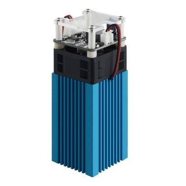 40 W Lasermodul LD + FAC 5,5 W 450 nm kontinuierlicher Laser Schneller hochpräziser Schnittgraveur