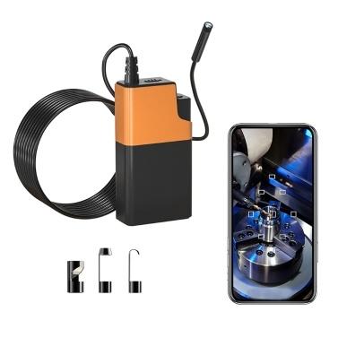 Inskam ALS100 1080P 5M WiFi-Verbindung Industrielle endoskopische elektronische Kamera High-Definition-Kamera 8-mm-Objektiv Eingebaute IPEX-Antenne mit 6 LED-Leuchten IP65 wasserdicht