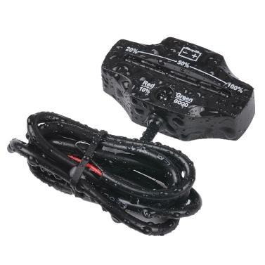 12V 24V LED Lead Acid Storage Battery Indicator Gauge Battery Level Monitor for Golf Carts Marine Motorcycle Truck Forklift