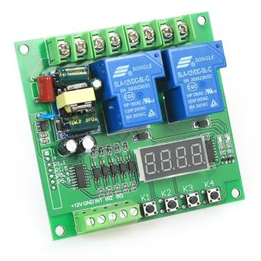 220V 2-Kanal Motor Driver Shield Board 30A LED Relaismodul für Arduino Raspberry Pi
