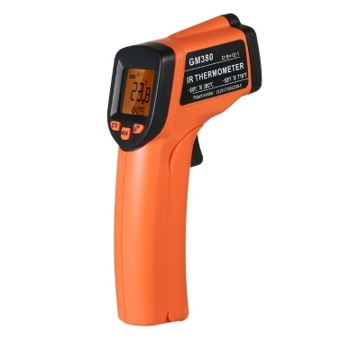 GM380 Handheld Non-contact IR Infrared Thermometer Digital Temperature Tester