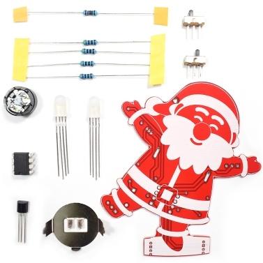 DIY Papá Noel decoración de Navidad Adorno de música Kit de 1 juego