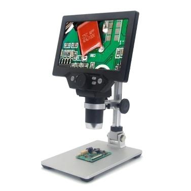 G1200 Digitales Mikroskop 7 Zoll großes Farbdisplay