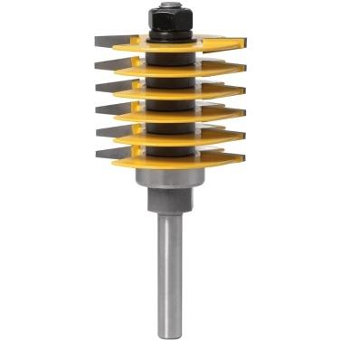 Finger Joint Router Bit Zapfenschneider Industriequalität für Holzwerkzeug 8 mm und 1/2 '' Schaft Optional