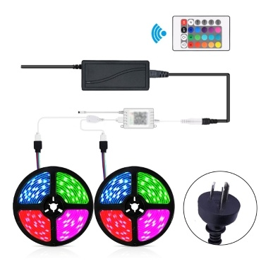 RGB LED Strip Flexible Light BT APP 24 Keys IR Remote Controller Home Decoration Lamp
