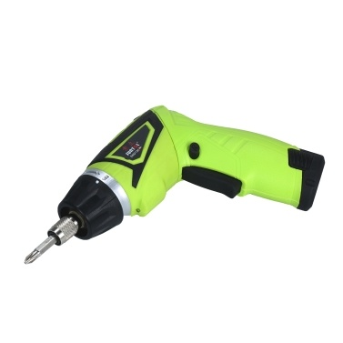 Quick Release 6.0N.m Cordless Electric Screwdriver 2x Rechargeable 1500mAh Li-ion with 41 Accessories 7 Torque Setting 2 Position Handle with LED Light Battery Indicator