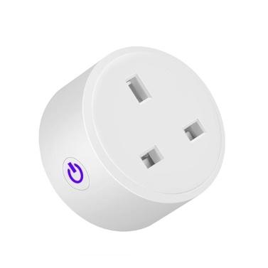 Tuya Wifi Intelligent Socket Remote Control WiFi Plug Wireless Remote Voice Control Timer Smartplug Compatible Amazon Alexa Google Assistant