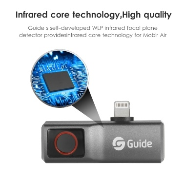 GUIDE MobIR Air Thermal Imaging Camera for Smartphone Mini IR Thermal Imager (Android Type-C connector)