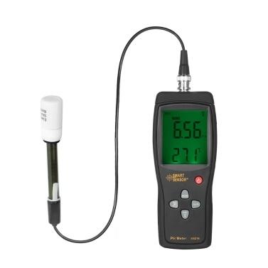 SMART SENSOR Professional High Precision Portable pH Meter pH Tester Measure