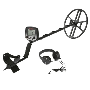 MD980 Portable Easy Installation Underground Metal Detector High Sensitivity Jewelry Treasure Hunting Gold Metal Detecting Tool with LCD Display
