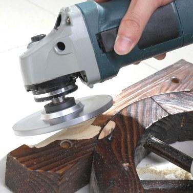 Holz Winkelschleifscheibe Schleifen Carving Rotary Tool Schleifscheibe Für Winkelschleifer Hartmetall Beschichtung Bohrung Gestaltung 5 / 8inch Bohrung