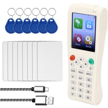 Handheld Key Machine iCopy 5 Full Decode Function Intelligent Card Key Machine RFI-D NFC Copier IC/I-D Reader Writer Duplicator