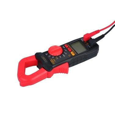 SMART SENSOR Digitales Zangenmessgerät Hochpräzises Multimeter mit automatischem Bereich AC-Zangenamperemeter Zangenmessgerät ST823