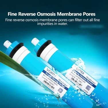 1812-75G Reverse Osmosis 75GPD Membrane RO Universal Compatible Replacement RO Fits Residential Water Filter Purifier