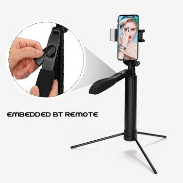 A21 Handheld-Stabilisator für Mobiltelefone BT-Telefon Video-Balance-Griff Teleskopstativ Anti-Shake-Telefon Selfie-Stick