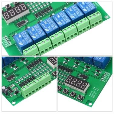 5V DC programmierbares 6-Kanal-Relaismodul
